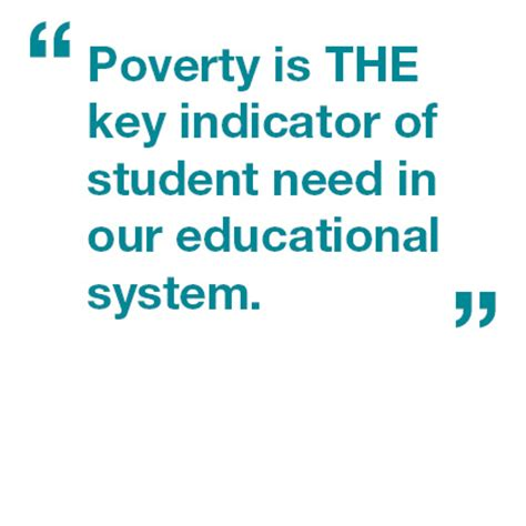 Research paper about poverty affects education